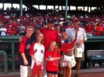 Meeting Terry Francona at Fenway...WOW! What a night!